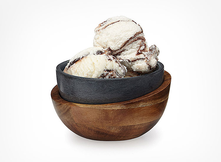 Stone Double Layered Ice Cream Bowl Koozie