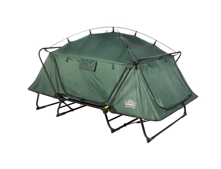 kamp rite double tent cot is a pullout bed in tent form