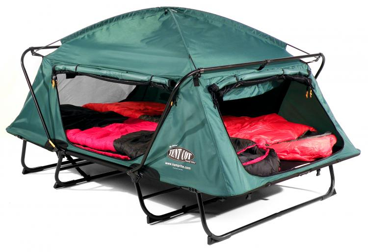 K&-rite double tent cot - Fold out sofa bed c&ing tent  sc 1 st  Odditymall & Kamp-Rite Double Tent Cot Is A Pullout Bed In Tent Form