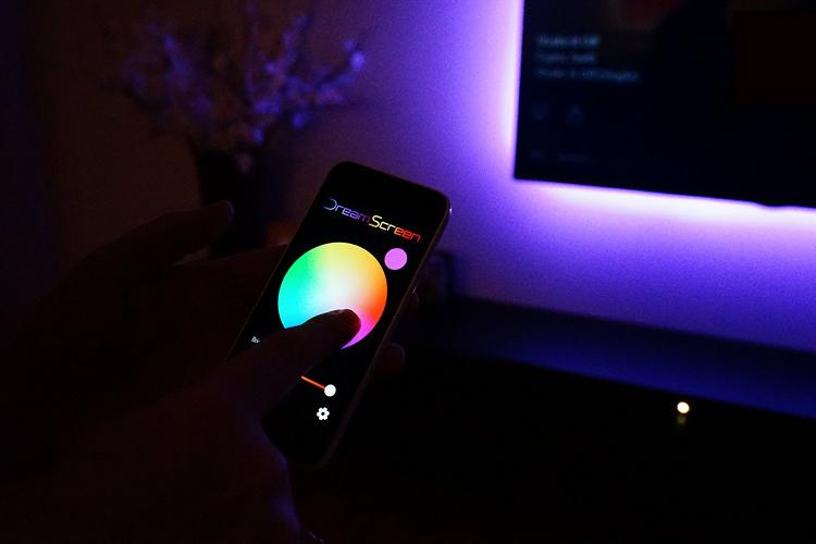 DreamScreen: LED Backlights For Your TV That Match The