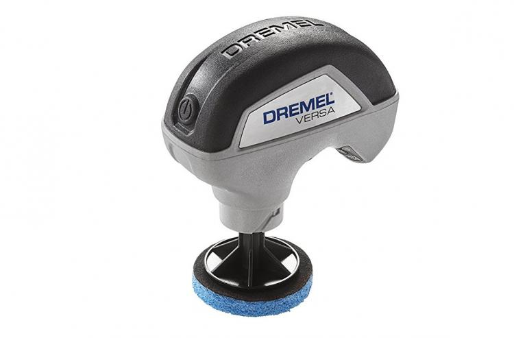 Dremel Cordless Power Cleaner - Tiny handheld power scrubber for cleaning kitchen, bathroom, car rims, shoes