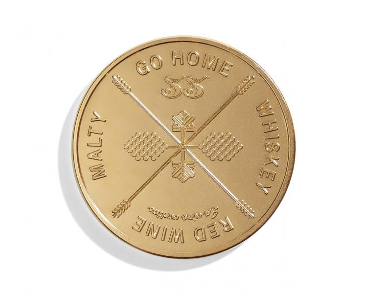 This Drinking Decision Coin Will Choose Your Next Drink For You