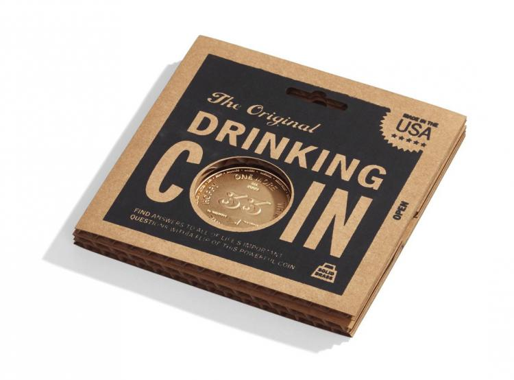 Drinking Decision Coin - Next Drink Decider Coin