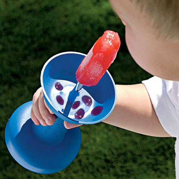 DripStik Ice Cream and Popsicle Holder - Prevents frozen treats from melting and dripping onto kids hands - Sticky hands prevention - Dripstick