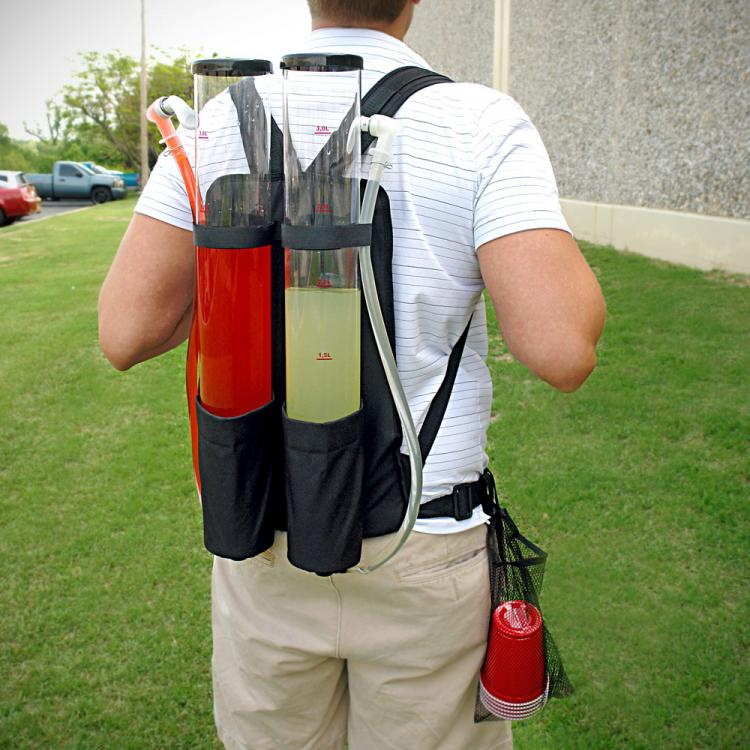 dual tank tailgating drink dispenser backpack - Drink Dispensers