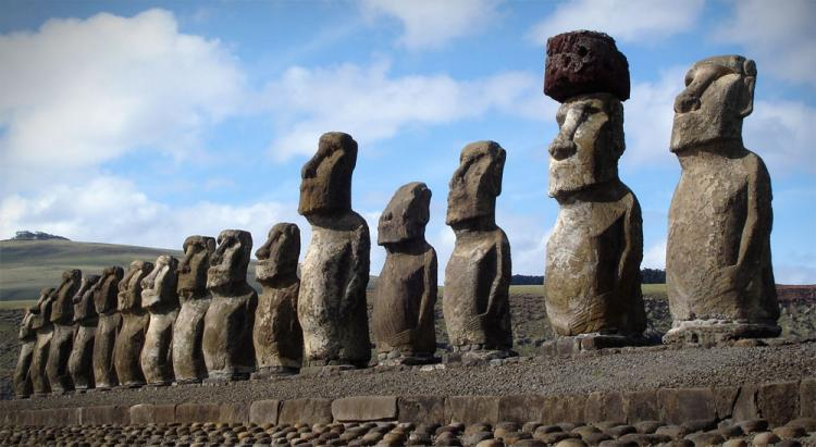 Good The Easter Island Monolith Replica Statues Are Cast In Quality Designer  Resin With A Stone Finish To Give It A Realistic Look, Measure 12.5 Inches  X 13 ...