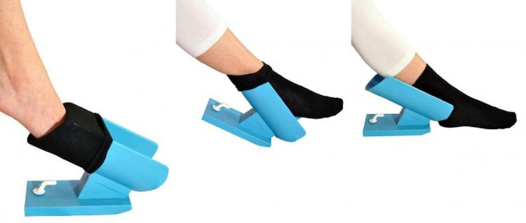 Easy-On  Easy-Off Sock Aid - Sock Helper For Seniors - No bending put on socks