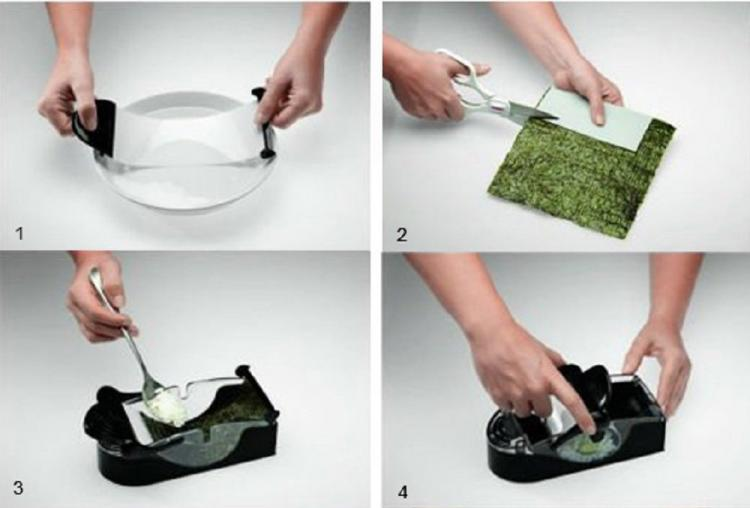 Easy Sushi Roller - Easy California Roll Maker