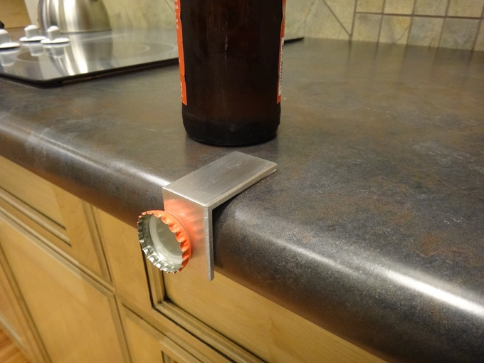 Edge Opener - Table Edge Bottle Opener