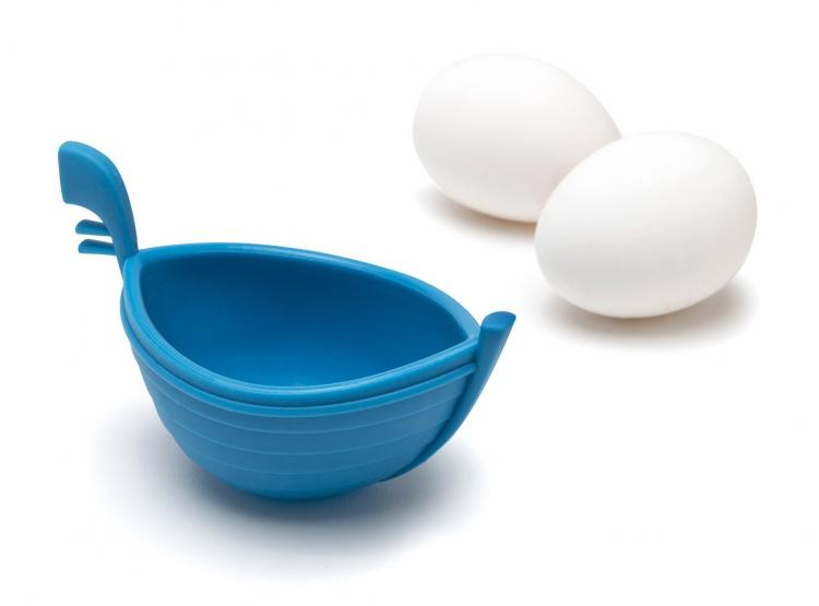 EGGONDOLA |Boat Shaped Egg Cooker | Venetian Gondola Boat Egg Poacher
