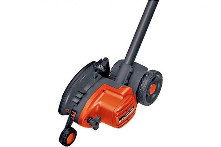 Electric Edge Trimmer and Trencher Keeps Edges Super Clean and Tidy - Black and Decker edger and trencher
