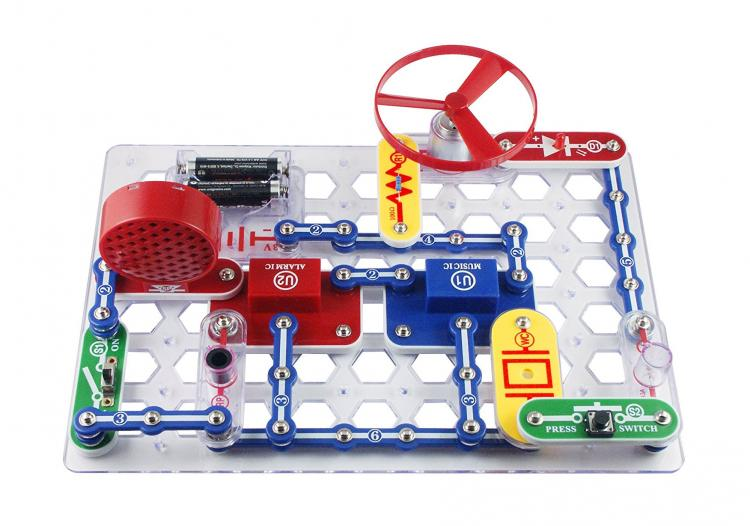 Electronics Discovery Kit - Science Toy Helps Kids Learn Basics Of Electronics