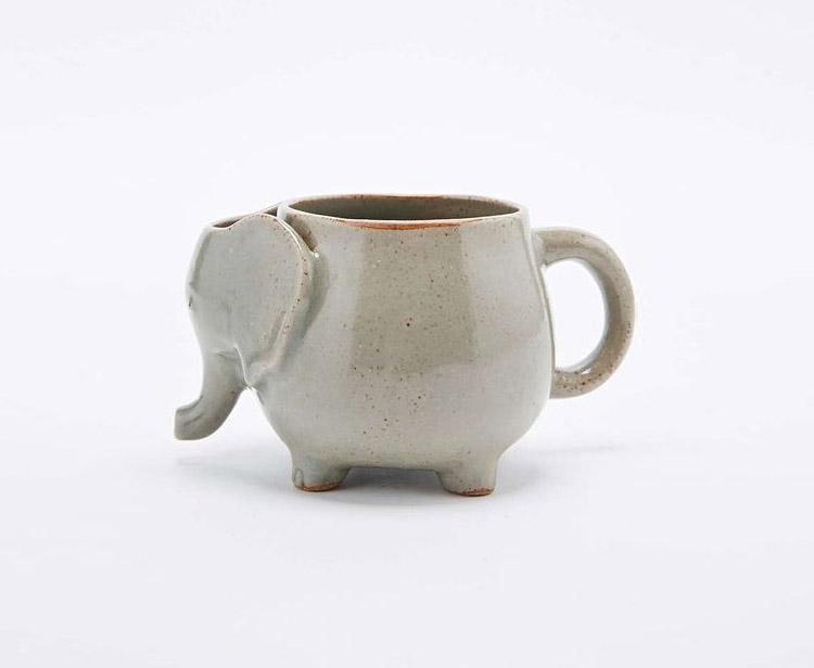 Elephant Tea Mug Holds Your Used Tea Bag