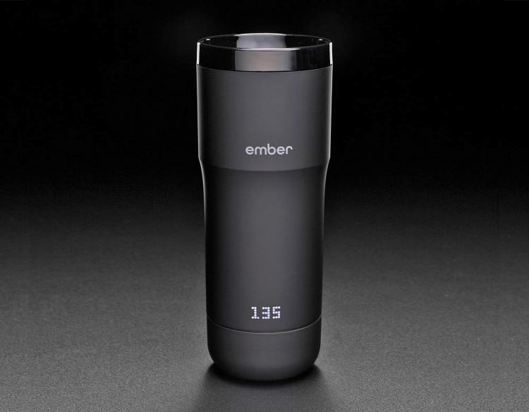 Ember Smart Coffee Mug Keeps Your Coffee Heated At The Perfect Temperature - Smart phone connected coffee mug