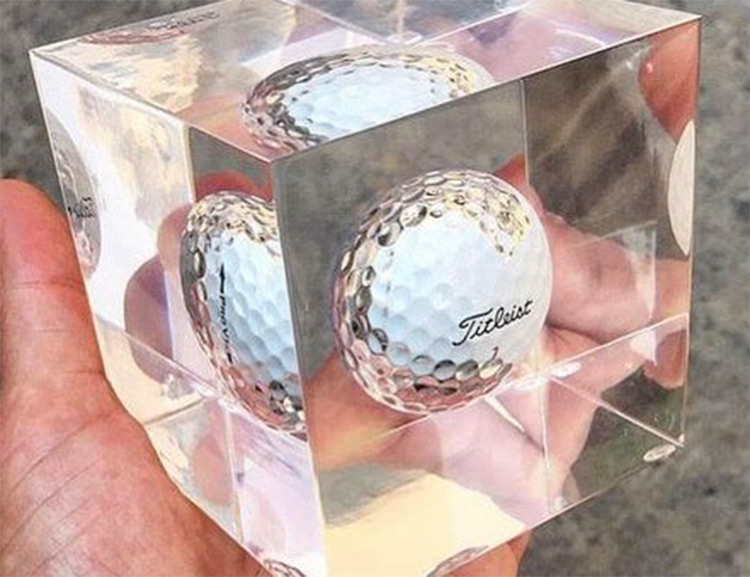 Encapsulate Your Hole-In-One Golf Ball