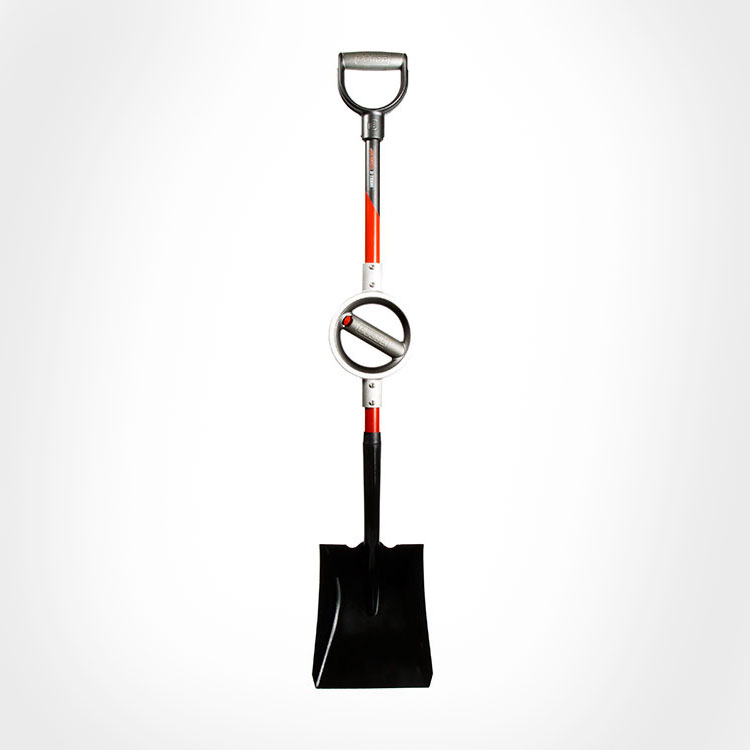 Bosse Ergonomic Adjustable Snow Shovel