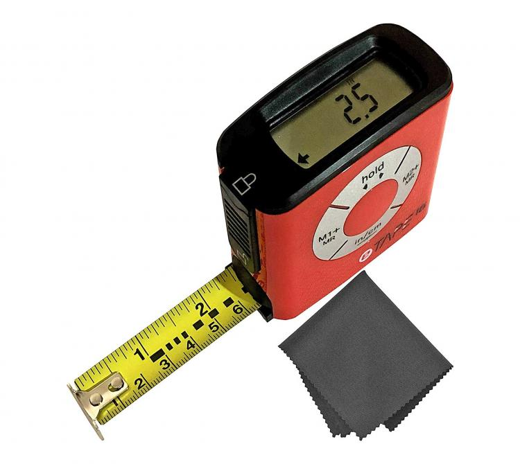 Etape16 Digital Tape Measure With Display - Bluetooth Tape measures records measurements to your phone
