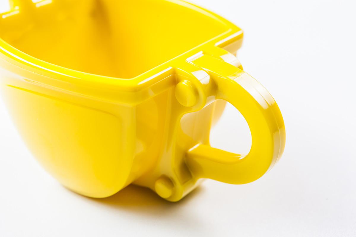 Excavator Bucket Coffee Mug - Construction Machine Coffee Mug - Digger Mug
