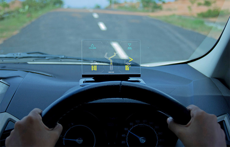 Exploride - Transparent Heads Up Display - HUD