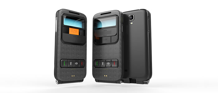 EziSmart - Turns Smart Phone Into Flip Phone For Seniors