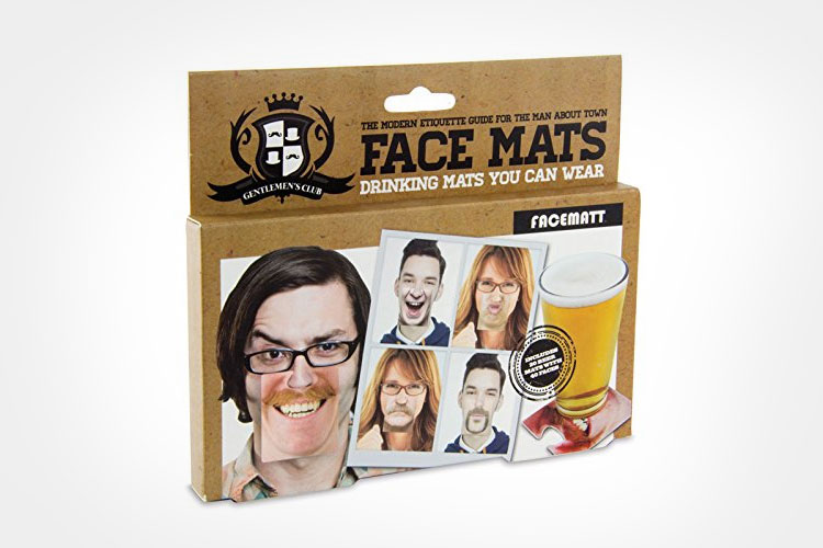 Face Mats - Face Coasters - Funny Face Nose Clips