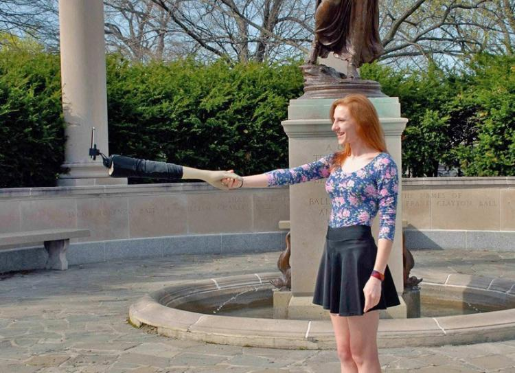Fake Arm Selfie Stick