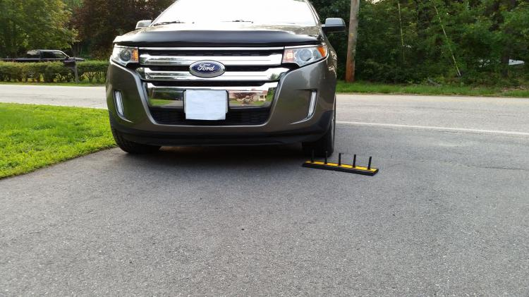 Driveway Spikes - Fake Car Spikes - Fake Tire Spikes