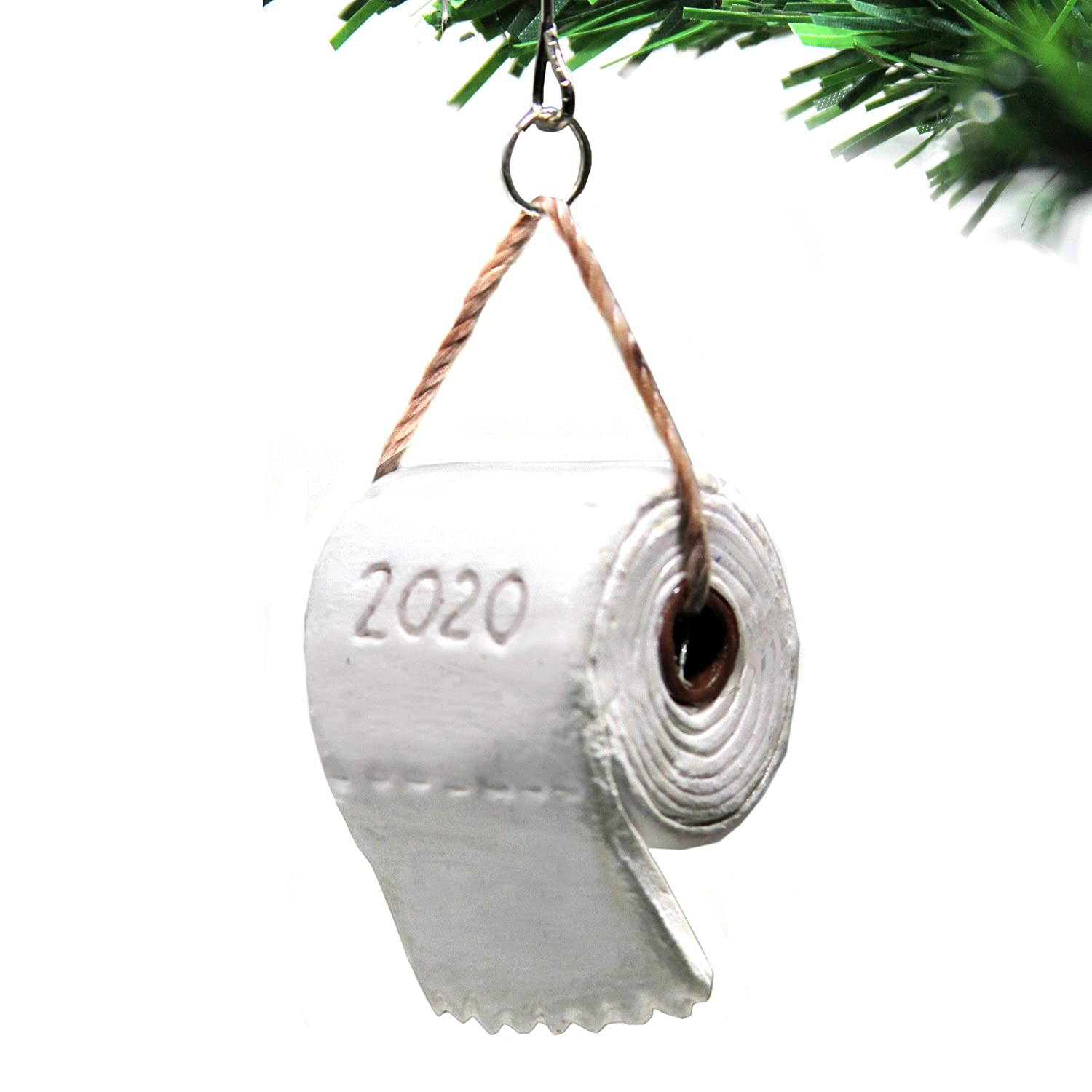 Funny 2020 Roll Of Toilet Paper Christmas Ornament