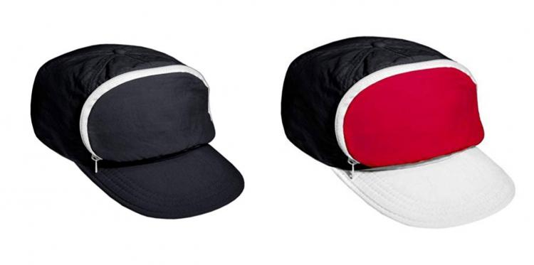 Fanny Pack Hat - Cap-Sac Fanny Pack For Your Head