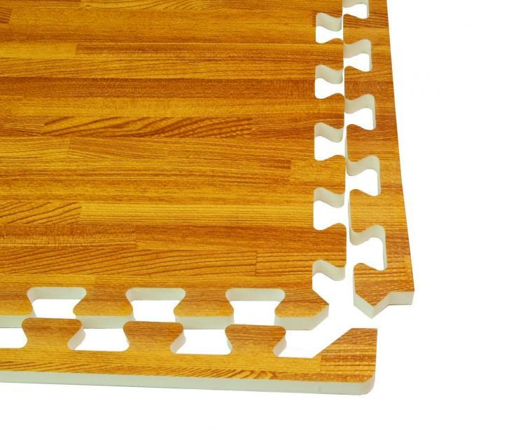Foam floor tiles wood
