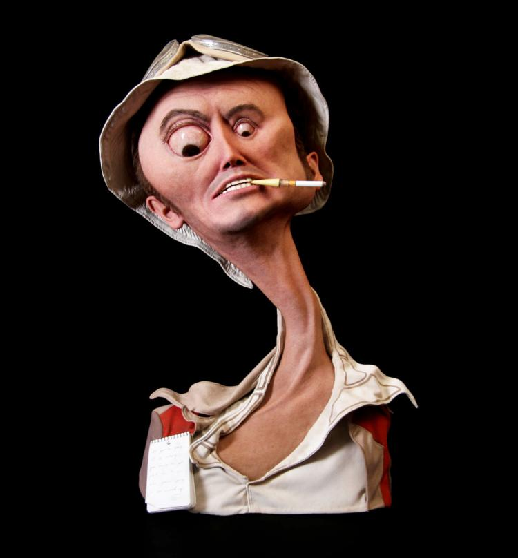 Fear and Loathing Realistic Sculpture