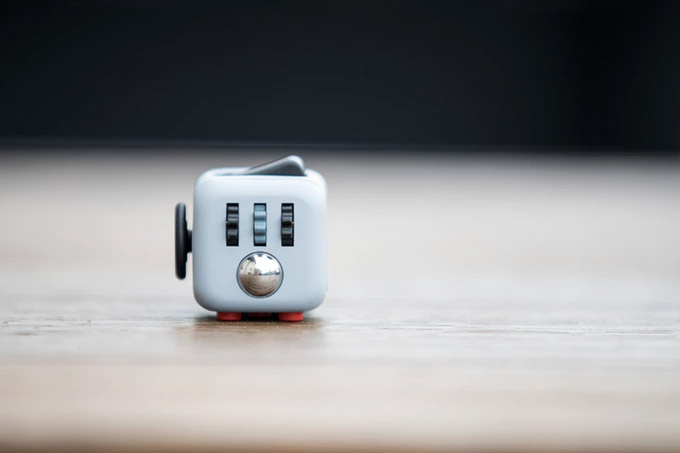 Fidget Cube - Cube toy filled with things to fidget with