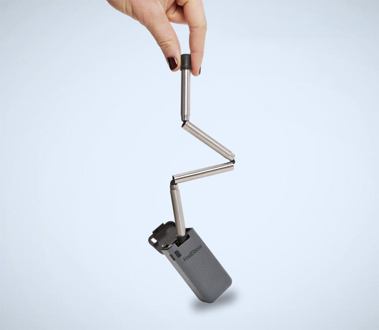 FinalStraw - Metal Collapsible and Reusable Drinking Straw