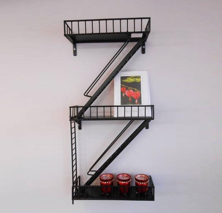 Fire Escape Urban Wall Shelving