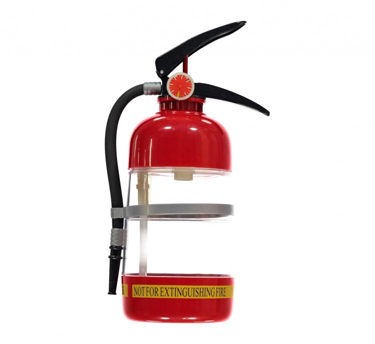 Fire Extinguisher Cocktail Shaker and Drink Dispenser
