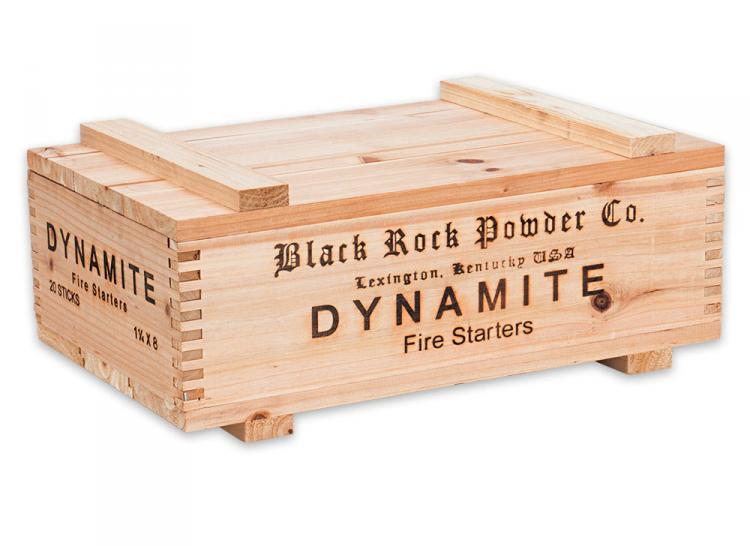 Dynamite Fire Starter Sticks - Dynamite Box