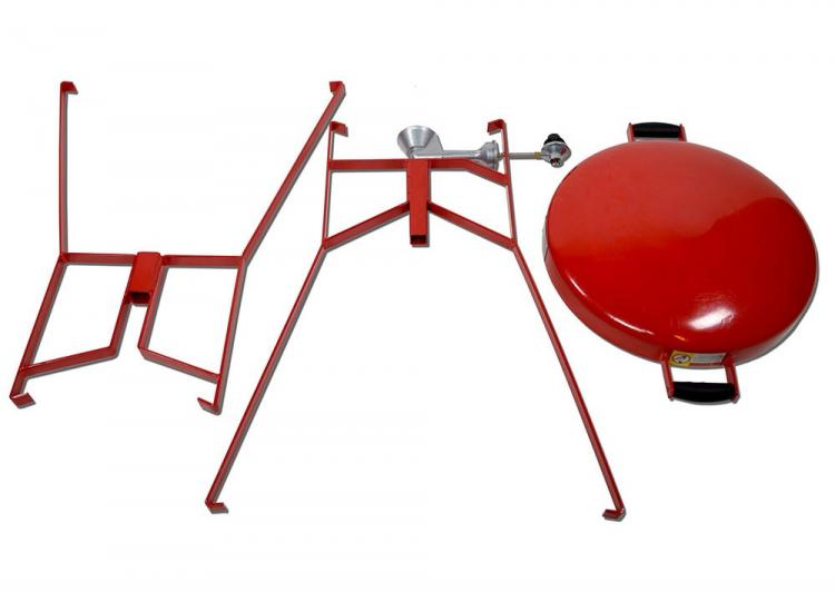 FireDisc Portable Grilling Pan - Grill Any Dish BBQ Pan