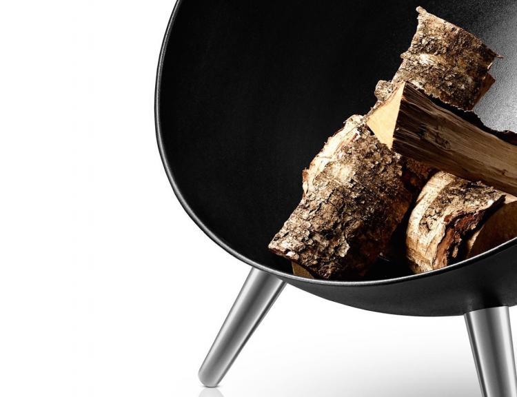 eva solo feuerschale good zwei in einem grill und. Black Bedroom Furniture Sets. Home Design Ideas