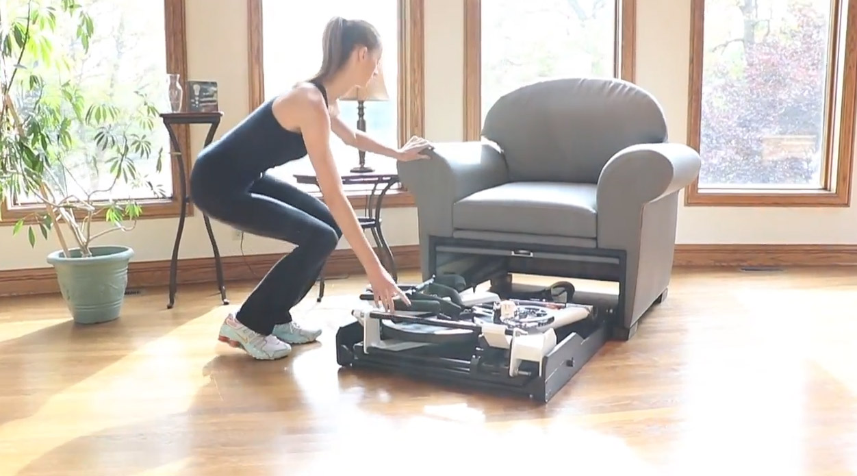 This Company Makes Stow-Away Fitness Equipment That Hides ...