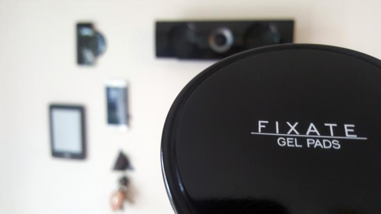 Fixate Gel Pads - Sticky pad lets you stick anything to anywhere