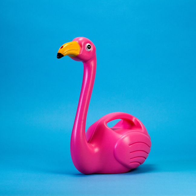 Flamingo Watering Can - Flamingo Garden Waterer