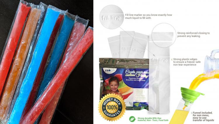 Flavored Vodka Ice-Pops Alcoholic Freezies - Adult freezies