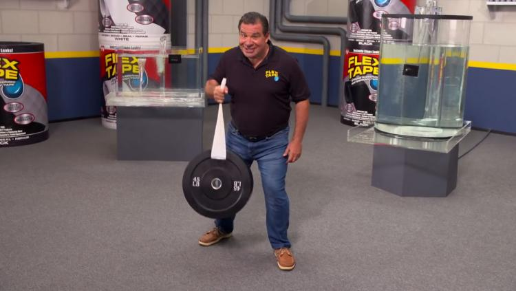 Flex Tape - Extreme Tape - Waterproof Tape - Magical Tape Seals Cracks and holes even underwater