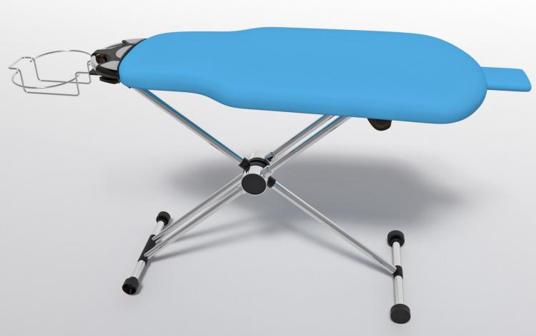 Flippr Ironing Board - Rotating Ironing Board Lets You Rotate The Board Instead of Your Clothing