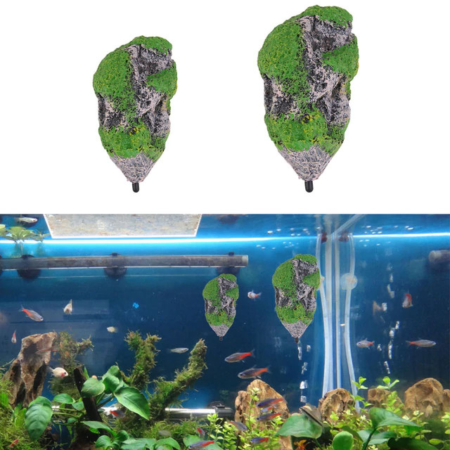 Floating Aquarium Islands - Floating Fish Tank Rocks - Avatar Islands For Aquarium
