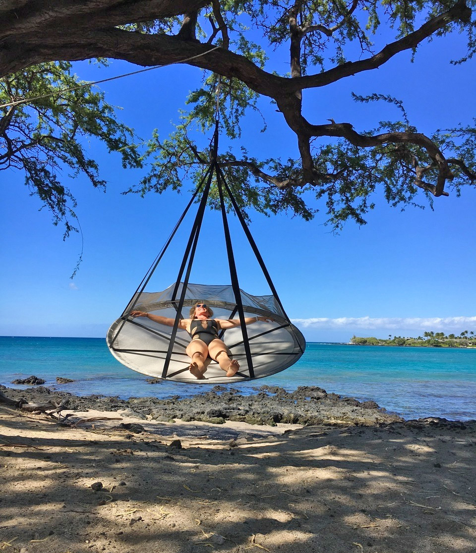 Giant Flying Saucer Hanging Tree Hammock Chair