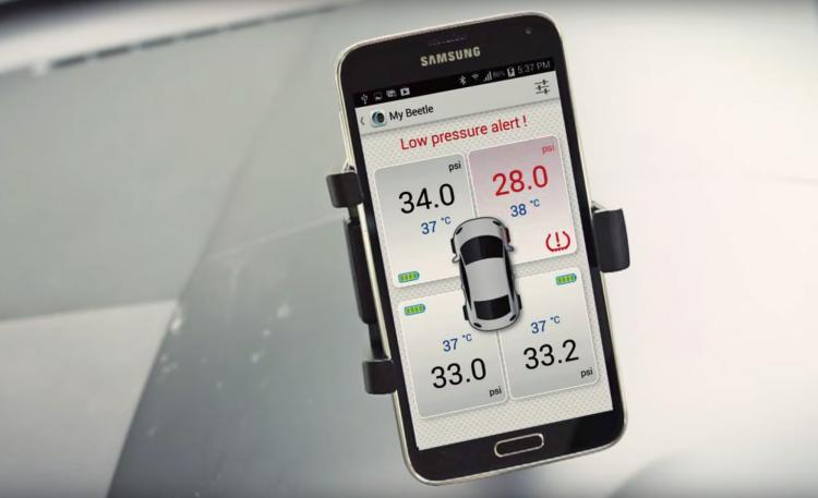 FOBO Tire Pressure Monitoring System For Your Car