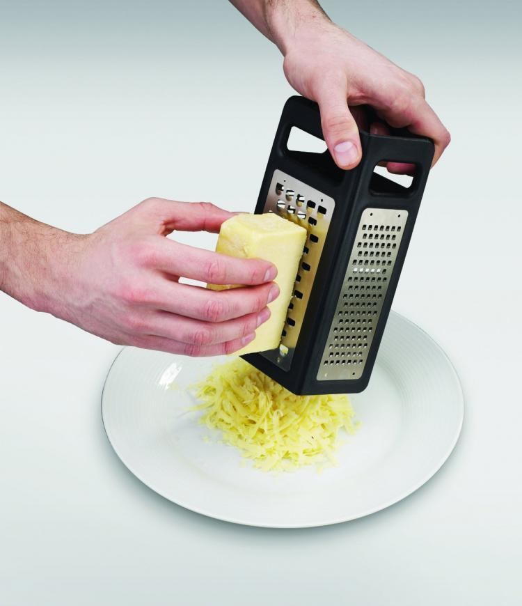 Grate Slicer Combo Folds Flat For Easy Storage - Joseph Joseph foldable cheese grate slicer