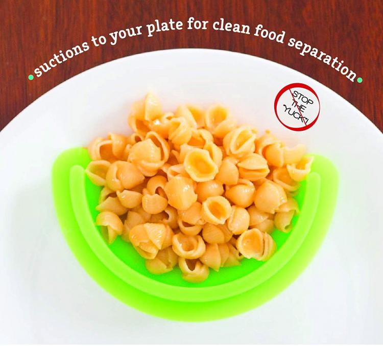 Food Cubby Plate Dividers Separate and Portion Your Food