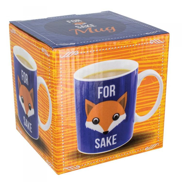 For Fox Sake Coffee Mug - For Fucks Sake Coffee Mug